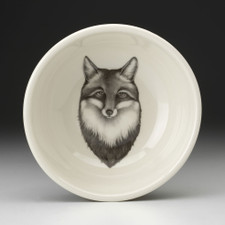 Cereal Bowl: Fox Portrait