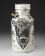 Jug with Handle: Hereford Cow