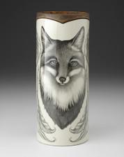 Large Vase: Fox Portrait