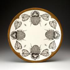 Large Round Platter: Scarab Beetle