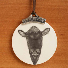 Ornament: Angus Bull