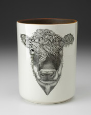 Utensil Cup: Hereford Cow