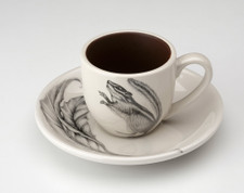 Espresso Cup and Saucer: Chipmunk #1