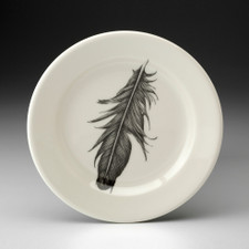 Bread Plate: Raven Feather