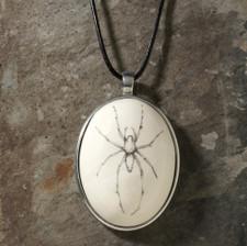 Ceramic Pendant: Cave Spider
