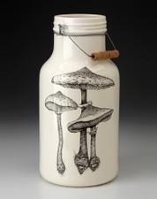 Jug with Handle: Parasol Mushroom #4