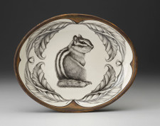 Small Serving Dish: Chipmunk #3