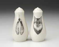 Salt and Pepper: Fox Portrait