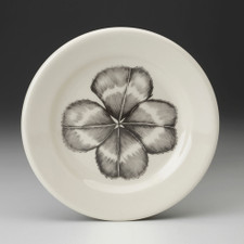 Bread Plate: Four-leaf Clover