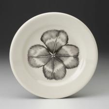Bread Plate: Four-leaf Clover