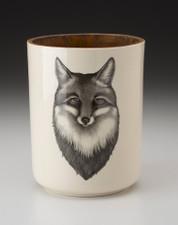 Utensil Cup: Fox Portrait