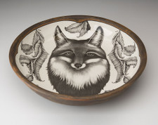 Pasta Bowl: Fox Portrait