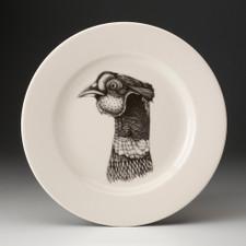 Dinner Plate: Pheasant Head