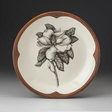 Small Round Platter: Magnolia
