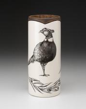 Large Vase: Pheasant