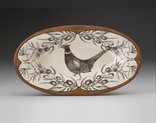 Oblong Serving Dish: Pheasant
