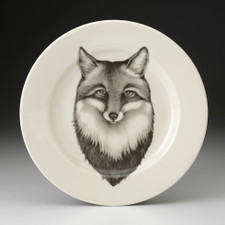 Dinner Plate: Fox Portrait