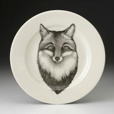 Dinner Plate: Fox Portrait