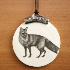 Ornament: Red Fox