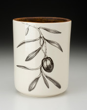 Utensil Cup: Olive