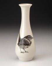 Bud Vase: Carolina Wren