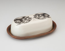 Butter Dish: Hermit Crab