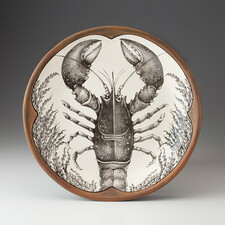Small Round Platter: Lobster