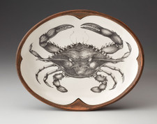 Small Serving Dish: Blue Crab