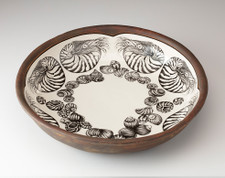 Small Pasta Bowl: Nautilus