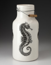 Jug with Handle: Seahorse