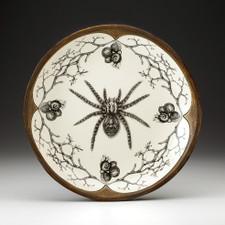 Small Round Platter: Tarantula