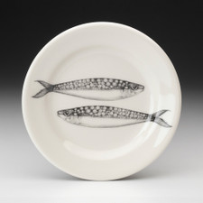 Bread Plate: Sardines