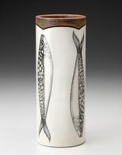 Small Vase: Sardines