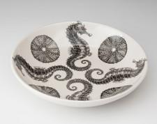 Shallow Bowl: Seahorse