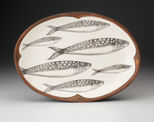 Small Oval Platter: Sardines