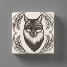 Wall Box: Fox Portrait