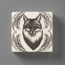 Wall Box: Fox Portrait