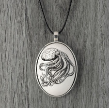 Ceramic Pendant: Octopus