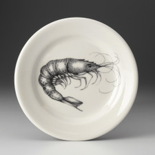 Bread Plate: Shrimp