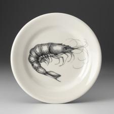 Bread Plate: Shrimp