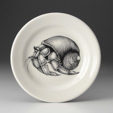 Bread Plate: Hermit Crab