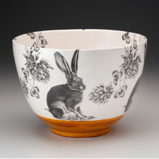 Large Bowl: Sitting Hare