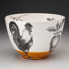 Large Bowl: Rooster