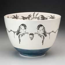 Large Bowl: Chickadee