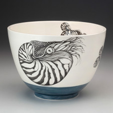 Large Bowl: Nautilus