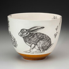 Medium Bowl: Crouching Hare
