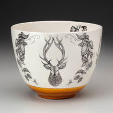 Medium Bowl: Red Stag