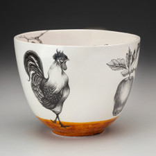 Medium Bowl: Rooster