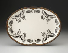 Small Oval Platter: Swallowtail Butterfly