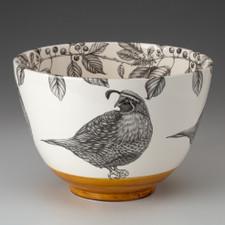 Large Bowl: Quail #4